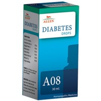 Allen A8 Diabetes Drops (30ml) : Helps Maintain Sugar Levels in Blood and Urine and Related Symptoms