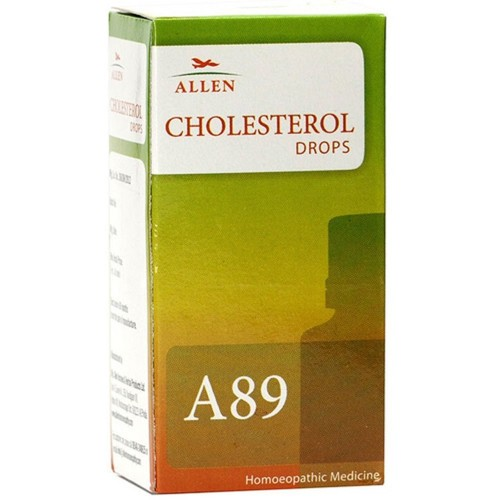 Allen A89 Cholesterol Drops (30ml) : Reduces and Dissolves Excess Blood Cholesterol, Supports Cardiovascular System