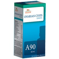 Allen A90 Ovarian Cysts Drops (30ml) : For Ovarian related problems, Helps Regulate Menses