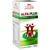 Allen Alfa Plus Family Tonic (100ml) : For General Health Improvement, Loss of Appetite, Weakness and Gain Stamina