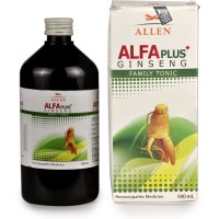 Allen Alfa Plus Family Tonic (500ml) : For General Health Improvement, Loss of Appetite, Weakness and Gain Stamina