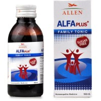 Allen Alfa Plus Family Tonic (Sugar Free) (100ml) : For General Health Improvement, Loss of Appetite, Weakness and Gain Stamina