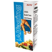 Allen Alfa Plus With Ginseng (500ml) : For General Health Improvement, Loss of Appetite, Weakness and Gain Stamina
