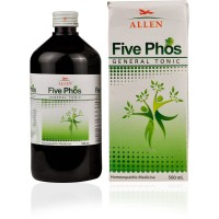 Allen Five Phos Syrup (500ml) : For Nervous Exhaustion, Impaired Memory, General Debility, Loss of Appetite, weakness