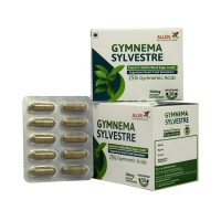 Allen Gymnema Sylvestre (50caps) : Supports Healthy Blood Sugar Levels, Suppresses Sweet Taste Sensations