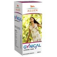 Allen Gynical Uterine Tonic (100ml) : Relieves Heavy Irregular Menstrual Bleeding with Pain in Lower Abdomen, Backaches.