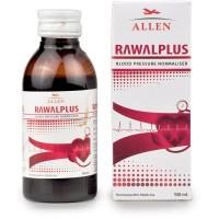 Allen Rawalplus Syrup (100ml) : Controls High Blood Pressure, Headache in Occiput, Throbbing Pulse, Irritability