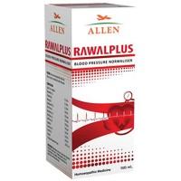 Allen Rawalplus Syrup (500ml) : Controls High Blood Pressure, Headache in Occiput, Throbbing Pulse, Irritability