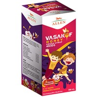 Allen Vasakof Cough Syrup (500ml) : For Cough, Bronchitis, Lung Inflammations, Breathlessness, Chest Congestion