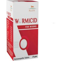 Allen Wormicid Tablets (25g) : All Kinds of Worms (Tape, Thread and Hooks Worms), Itching in Rectum and Nose