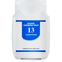 Bakson Biochemic Combination 13 (450g) : For White Discharges (Vaginal) Thick, Itching, Acrid, Watery, Weakness.