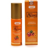 Bakson Sunny Anti Aging Lotion (80ml) : Provides 6 fold Action with Hydrative & Regenerative Properties