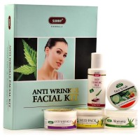 Bakson Sunny Anti Wrinkle Facial Kit (1Pack) : Ideal Facial Kit Infusing Dry Matured Skin Giving Hydrated and Youthful Glow