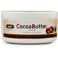 Bakson Sunny Cocoa Butter Cream (500g) : Reduces Pigmentation and Wrinkles and Softens Skin, Post Pregnancy Marks