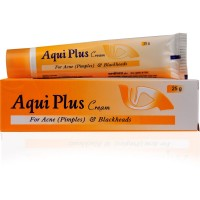Hapdco Aqui Plus Cream (25g) : For Acne, Pimples, Blackheads, Facial Scars and Unhealthy Skin