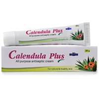 Hapdco Calendula Plus Cream (25g) : Antiseptic Useful in Healing Wounds, Surgical Cuts, Boils, Carbuncles