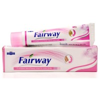 Hapdco Fairway Cream (25g) : Makes Fairer Naturally, Removes Blemishes, Gives a Clear, Glowing Complexion