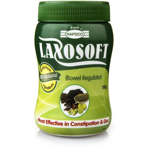 Hapdco Laxosoft Laxative Powder (100g) : Relieves from constipation, heaviness in abdomen