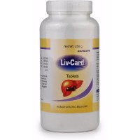 Hapdco Liv-Card Tablets (250g) : Improves Digestion, Jaundice, Fatty Liver, vomiting, Pain in liver region