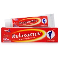 Hapdco Relaxomuv Ointment (25g) : Decreases Swelling, Stiffness, Pain in Joints, useful in Gout and Uric Acid