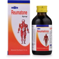 Hapdco Reumatone Syrup (120ml) : For Sprains, Stiffness of Muscles, Swellings, Pains, Sciatica, Joint pain