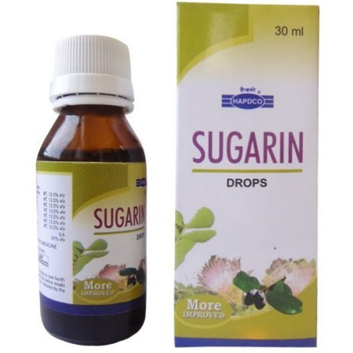 Hapdco Sugarin Drops (30ml) : Effective in Lowering High Blood Sugar, Maintains blood sugar, Weakness