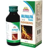 Wheezal Alfalfa With Ginseng (120ml) : Maintain Health & Boost Immunity, Enhances Energy, Stamina & Improves Appetite
