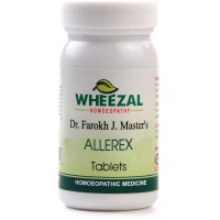 Wheezal Allerex Tablets (75tab) : For Nasal Allergy, Rhinitis, Sneezing, Itchy Eyes, Running Nose & Cough