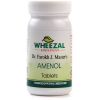 Wheezal Amenol Tablets (75tab) : Helpful in Delayed, Scanty Menses & Abdominal Cramps, regulates menses