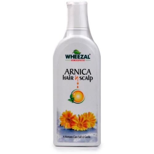 Wheezal Arnica Hair and Scalp Shampoo (100ml) : For Hair Falling, Dandruff, Alopecia, Early Graying and Splitting of Hair