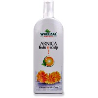 Wheezal Arnica Hair and Scalp Shampoo (500ml) : For Hair Falling, Dandruff, Alopecia, Early Graying and Splitting of Hair
