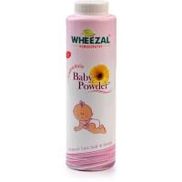 Wheezal Calendula Baby Powder (100g) : Controls Skin Rashes Due to Heat and Perspiration, Keeps Skin Dry & Fresh
