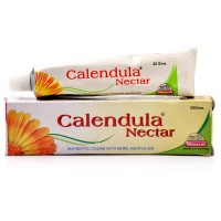 Wheezal Calendula Nectar Antiseptic Cream (25g) : For Pimples, Blotches, Acne, Scars, Cracked Nipples, Dry & Chapped Skin