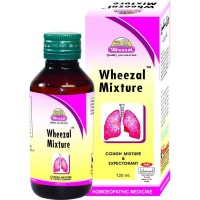 Wheezal Cough Mixture (120ml) : For Rattling Cough, Bronchitis, Dyspnoea, Laryngitis, Suffocative Cough