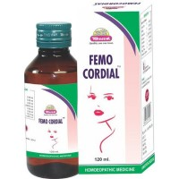 Wheezal Femocordail Syrup (120ml) : Regulates Menses, helpful in complaints of White Discharges (Vaginal).