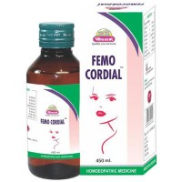 Wheezal Femocordail Syrup (450ml) : Regulates Menses, helpful in complaints of White Discharges (Vaginal).