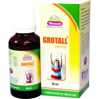 Wheezal Grotall Drops (30ml) : For Stunted Growth, Delayed developent, Slow Growth
