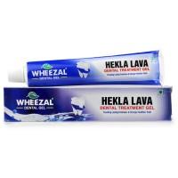 Wheezal Hekla Lava Dental Gel (100g) : Helps Fight Germs, Pyorrhea and Bad Breath, Tightens Gums, Strengthens Teeth