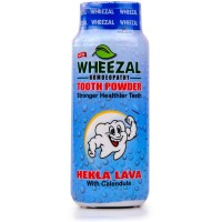 Wheezal Hekla Lava Tooth Powder (100g) : Helps Fight Germs and Bad Breath, Bleeding Gums, Tooth Decay, Toothache