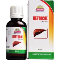 Wheezal Heptocol Drops (30ml) : Liver Tonic for Fatty Liver, Digestion, Relieve Constipation, Acidity