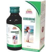 Wheezal Leucorine Syrup (120ml) : Effective in White Discharges (Vaginal) with Itching and Weakness.