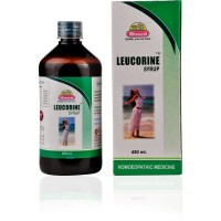Wheezal Leucorine Syrup (450ml) : Effective in White Discharges (Vaginal) with Itching and Weakness.