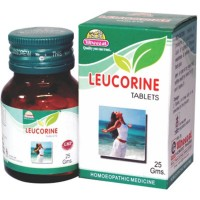 Wheezal Leucorine Tablets (25g) : Effective in White Discharges (Vaginal), with Itching and Weakness.