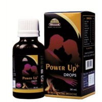 Wheezal Power Up Drops (30ml) : For Erectile Dysfunction, Lack of Libido, Early Ejaculation, Weakness