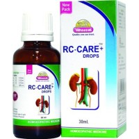 Wheezal RC-Care Drops (Renocol) (30ml) : For Pain, Expulsion of Kidney calculi, Gall Colic, Burning Urination