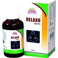 Wheezal Relaxo Drops (30ml) : Used in Sleeplessness, anxiety, restlessness, difficult concentration