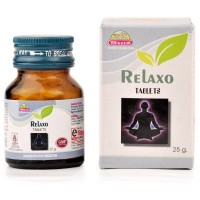 Wheezal Relaxo Tablets (25g) : Relieves Anxiety, sleeplessness, headache