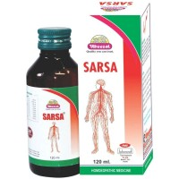 Wheezal Sarsa Syrup (120ml) : For Pimples, Acne, Psoriasis, Itching, Effective Blood Purifier