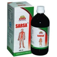 Wheezal Sarsa Syrup (450ml) : For Pimples, Acne, Psoriasis, Itching, Effective Blood Purifier