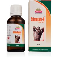 Wheezal Stimulant-H Drops (30ml) : Improves Male Vitality, Erectile Dysfunction, Early Ejaculation.